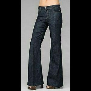 7Fam 'Ginger' Jeans Flare Bottom SZ 27